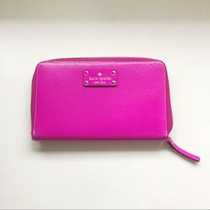 Kate Spade Wellesley Zip Travel Wallet